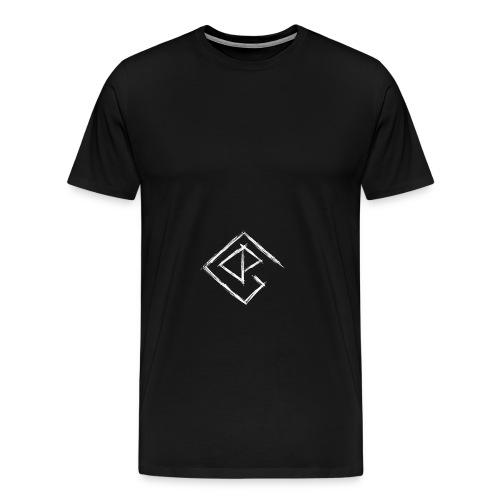 Logo weiß - Männer Premium T-Shirt