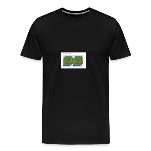 Depressed Froggo // Current Mood - Men's Premium T-Shirt