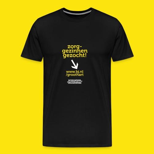 groothart 3 - Mannen Premium T-shirt