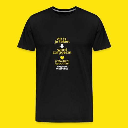 groothart5 - Mannen Premium T-shirt