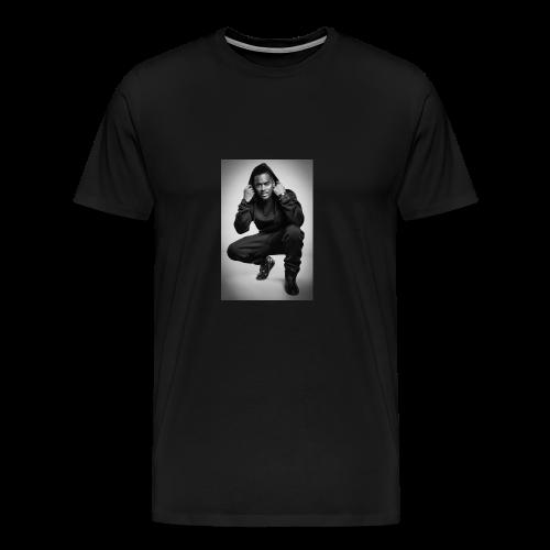 Black M - T-shirt Premium Homme