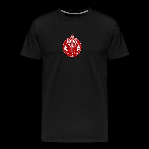 logo DUSTIDOLS RUEDA - Camiseta premium hombre