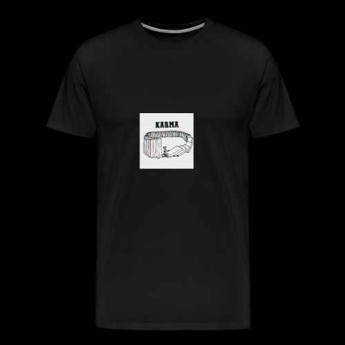Karma - T-shirt Premium Homme