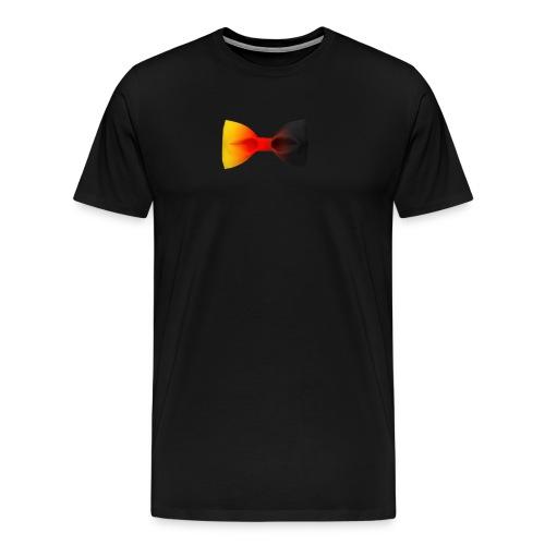 Deuschland Fliege - Männer Premium T-Shirt