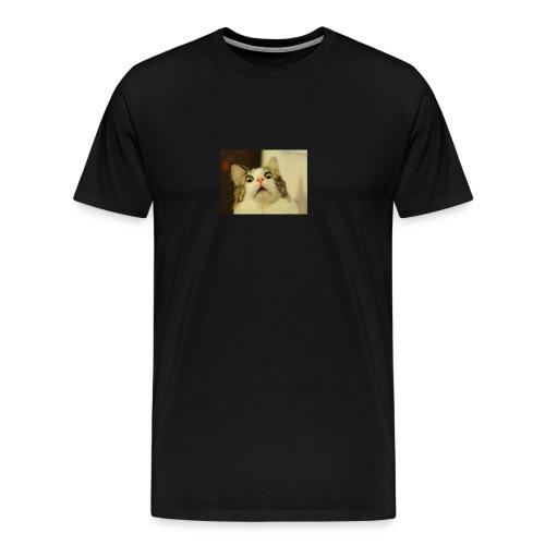 Funny cat tshirt - Men's Premium T-Shirt