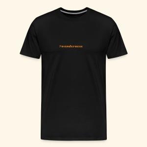 wanderness_orange - Männer Premium T-Shirt