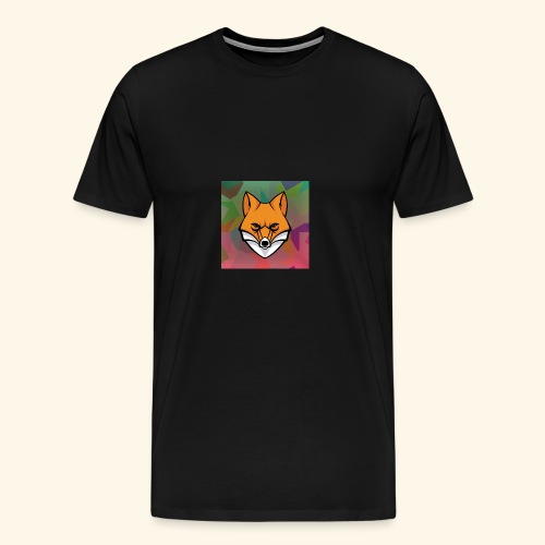 CurlyFox Logo - Männer Premium T-Shirt