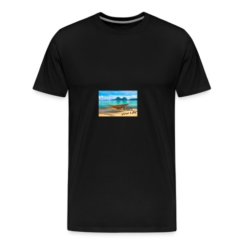 Enjoy your Life - Männer Premium T-Shirt