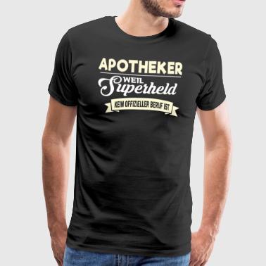 Superheld Beruf Apotheker - Männer Premium T-Shirt