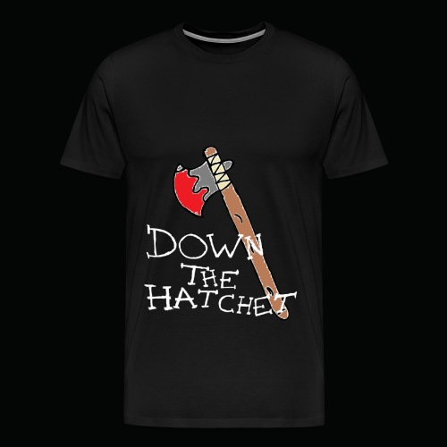 DTH Axe logo T-Shirt - Men's Premium T-Shirt