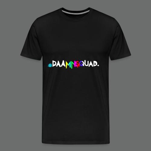 daamnsquad font - Männer Premium T-Shirt
