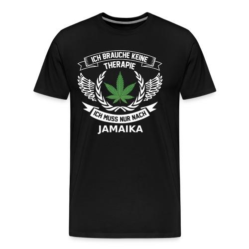 Jamaica Hanfblatt T-Shirt Urlaub - Männer Premium T-Shirt