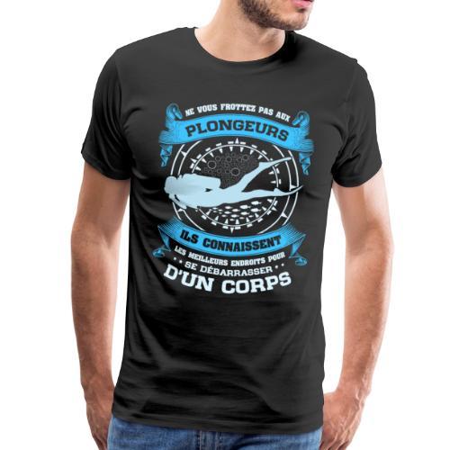 Plongée sous-marine pour Plongeur - T-shirt Premium Homme