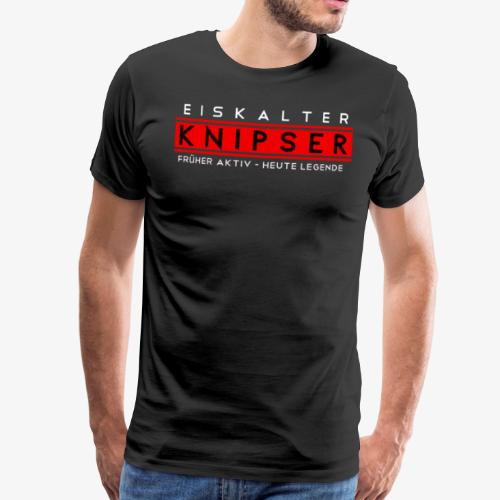SofaKicker: Eiskalter Knipser - Männer Premium T-Shirt