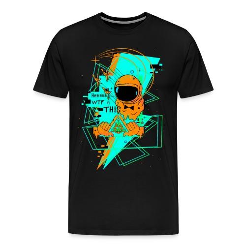 Astronauta Pop 8'0 orange storm - Camiseta premium hombre