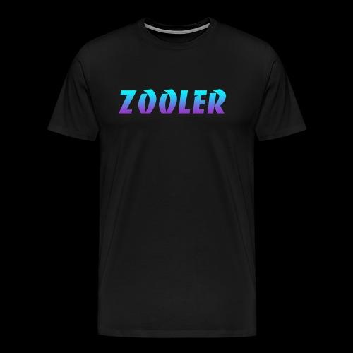Zooler BANCO blue and purple - T-shirt Premium Homme