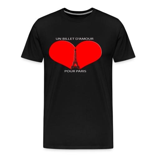 UBP PARIS LOGO ROUGE - T-shirt Premium Homme