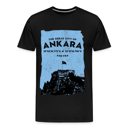 City of Ankara - Männer Premium T-Shirt