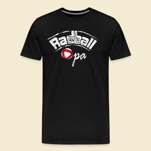 Radball | Opa - Männer Premium T-Shirt
