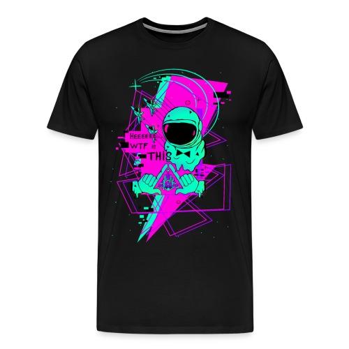 Astronauta Pop 8'0 pink storm - Camiseta premium hombre