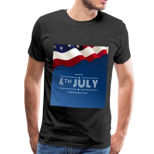 Day July 4th America T-Shirt - Männer Premium T-Shirt