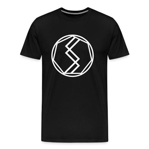 Silent Science Logo (White) - Men's Premium T-Shirt