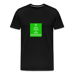 Keep calm and keep rustaaagh! - Mannen Premium T-shirt