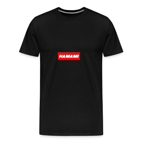 HAMAMI - Maglietta Premium da uomo