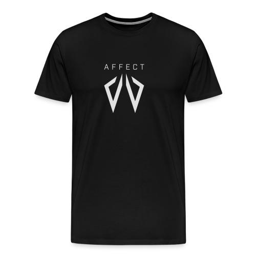Affect Wear Logo white - Männer Premium T-Shirt