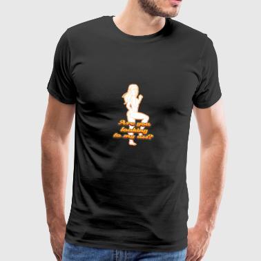 Szukasz dupie - Koszulka męska Premium
