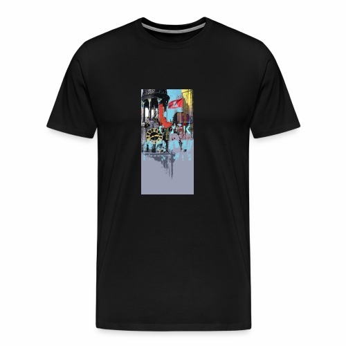 collage SDXl 13 5 08 H7 31 - Männer Premium T-Shirt
