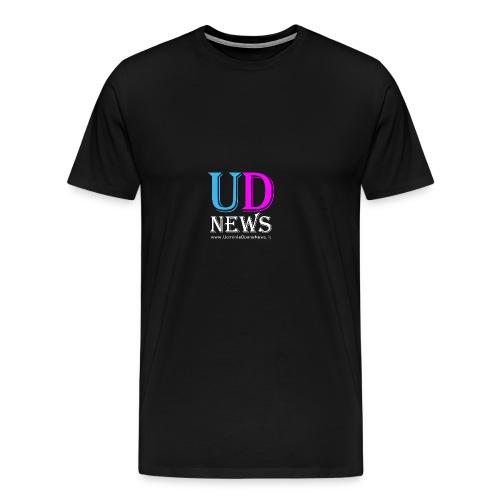 La maglietta di Uomini e Donne News scura - Maglietta Premium da uomo
