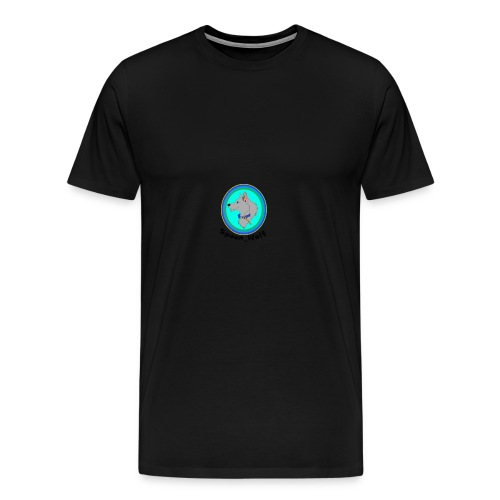 Spoon_Wolf_2-png - Men's Premium T-Shirt