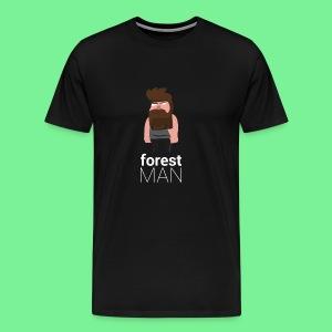 Waldmann | Flat Design - Männer Premium T-Shirt