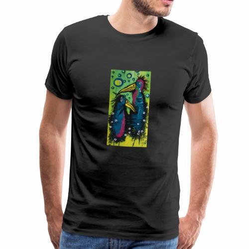 Two Birds - Herre premium T-shirt