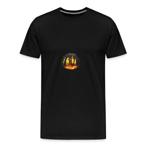 Burnout - Männer Premium T-Shirt