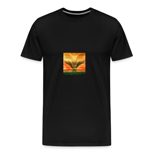 Faces in the Sky - Männer Premium T-Shirt