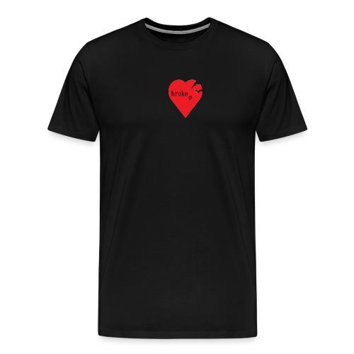 broken heart - Männer Premium T-Shirt