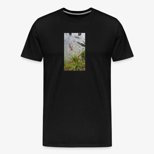 Fisk - Premium-T-shirt herr