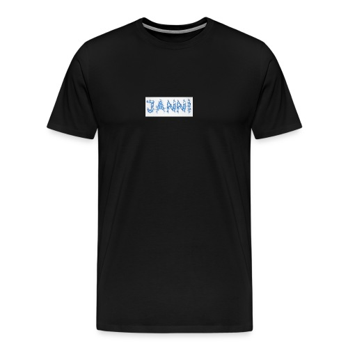 Janni Tesla collection - Herre premium T-shirt