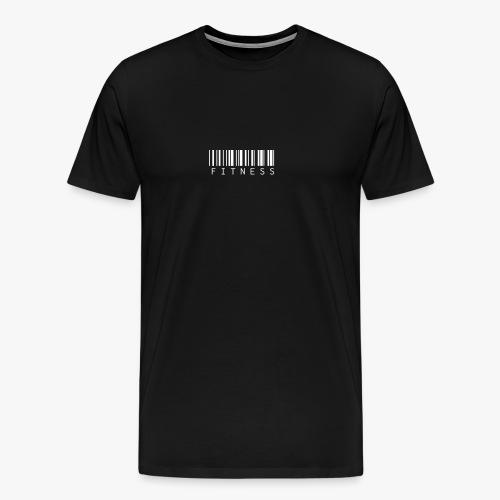 Fitness Barcodeschriftzug - Männer Premium T-Shirt