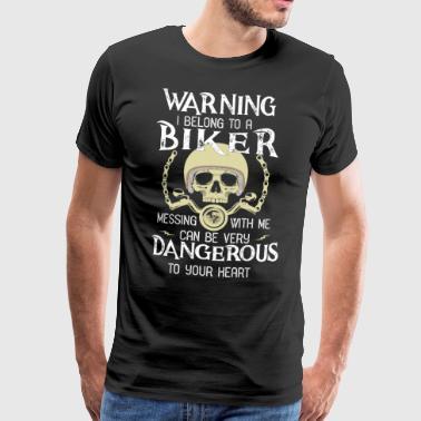 Biker - Herre premium T-shirt