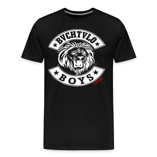 bachtalo boys logo weiss - Männer Premium T-Shirt