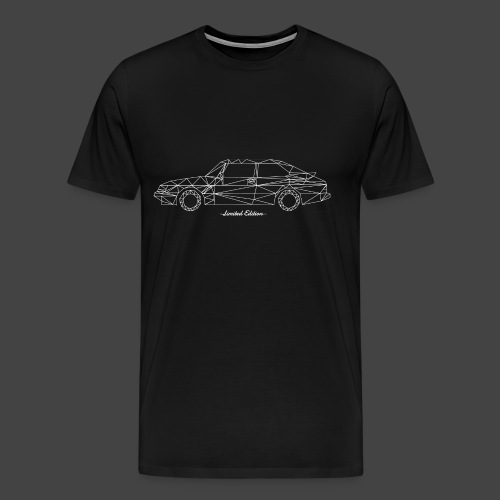 Limited Edition 900 Wit - Mannen Premium T-shirt