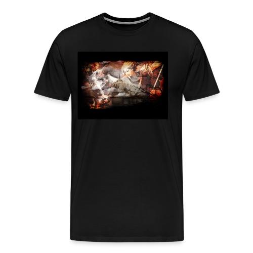 Archange Saint-Michel - T-shirt Premium Homme