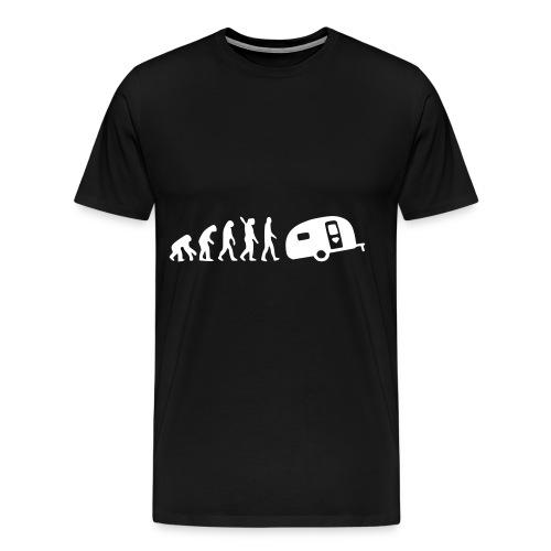 Camping Evolution - Männer Premium T-Shirt