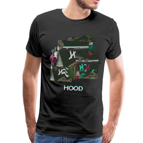 Hood Flowerss - Men's Premium T-Shirt