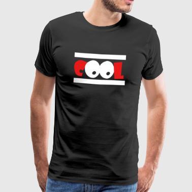 CooL gaveidé med samvittigheten Coolness - Premium T-skjorte for menn