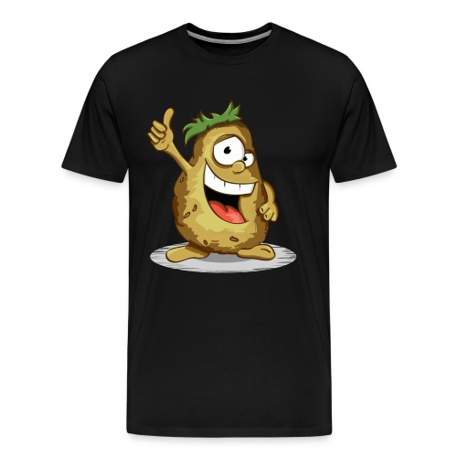 Denke positiv - Männer Premium T-Shirt