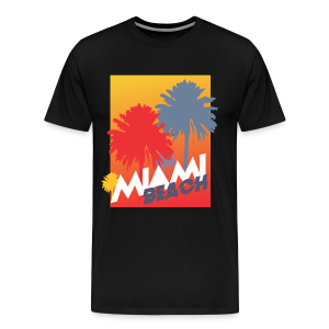 Miami Beach - Camiseta premium hombre